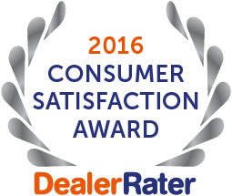 Award for Best Rated Honda Dealership